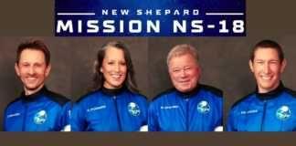 Confira o lançamento do 'voo espacial' que levará o ator William Shatner ao espaço