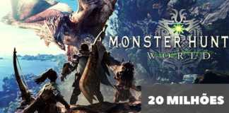 Monster Hunter: World alcança 20 milhões de cópias vendidas