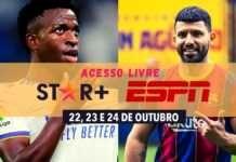 Assista Barcelona e Real Madrid grátis no Star+, de graça