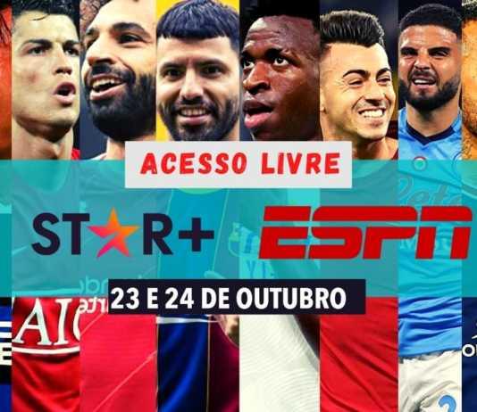 Assistir Ao vivo Futebol Europeu neste domingo (24) no Star+; de graça