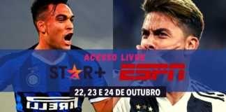 Inter de Milão e Juventus de graça no Star+,