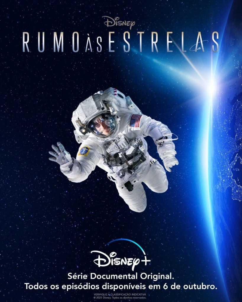 Pôster oficial de Rumo às Estrelas da Disney+