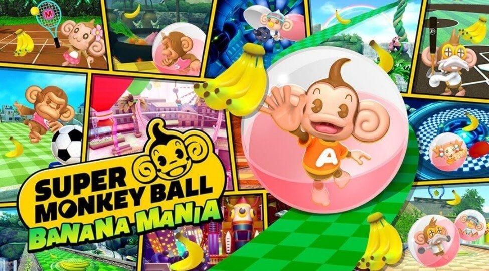 Super Monkey Ball Banana Mania já está disponível no ocidente
