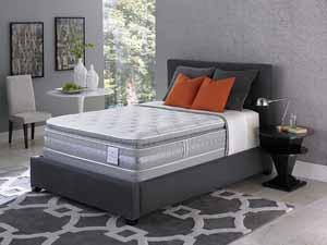 The Serta Perfect Sleeper mattress in a nice room