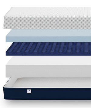 amerisleep as3 mattress section