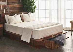the Brentwood Home bamboo gel mattress