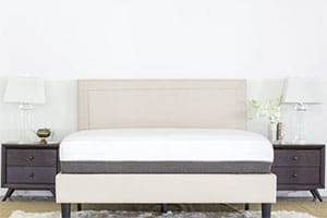 the luxisleep mattress in a nice room
