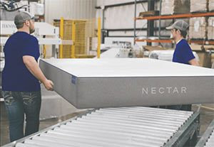 The NECTAR Sleep manufacturing plant