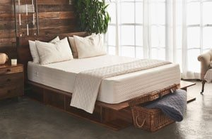 The Brentwood home Bamboo Gel 13 mattress in a room