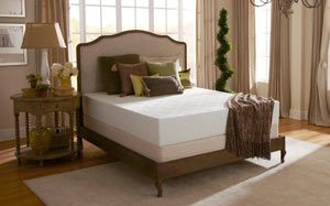 The PlushBeds Eco Bliss mattress in a room