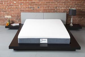 the ikrema superpedic mattress from the front