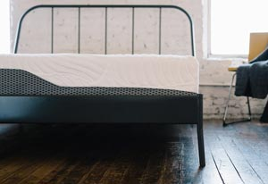 the mattress set in a room
