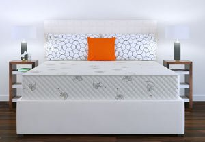 the astrabeds mattress in a room
