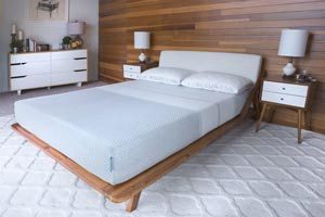 the 2920 sleep mattress reviewed from the front