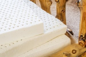 Stacked latex mattresses