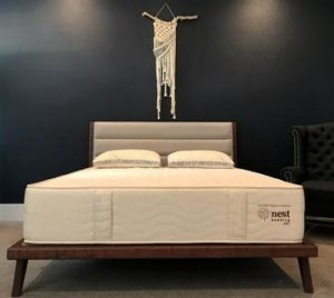 Artistic view of the Nest Bedding Certified Organic Mattress