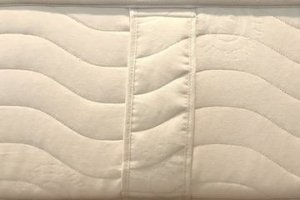 texture of the Nest Bedding Certified Organic Mattress cover