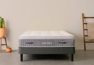 View of the Awara Mattress from the front