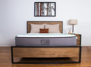 the plank mattress in a condo room