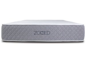 The Brooklyn Bedding Zoned mattress from the front