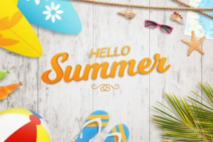 Welcome Summer 2018!