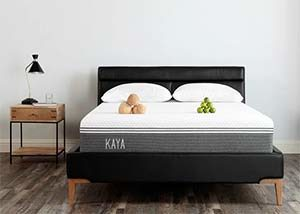 the KAYA mattress in a room