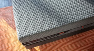 View of the Layla Hybrid mattress from the top