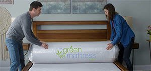 the packaged mattress