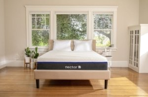 the Necatr Lush mattress in a nice room