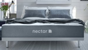 the nectar mattress from the front