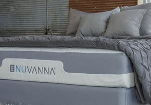 the nuvanna mattress in a nice room