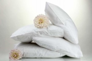 Image: Stack of fresh pillows