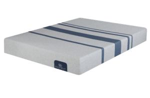 te serta icomfort blue 100 mattress from the front