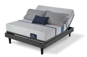 the serta icomfort blue on an adjustable beds