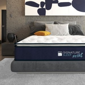 The Reset mattress by Signature Sleep in a room