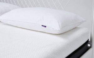 the SleepCo mattress with a pillow