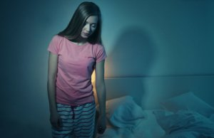 Image: girl sleepwalking
