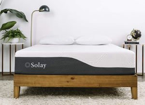 the saolay mattress in a nice room