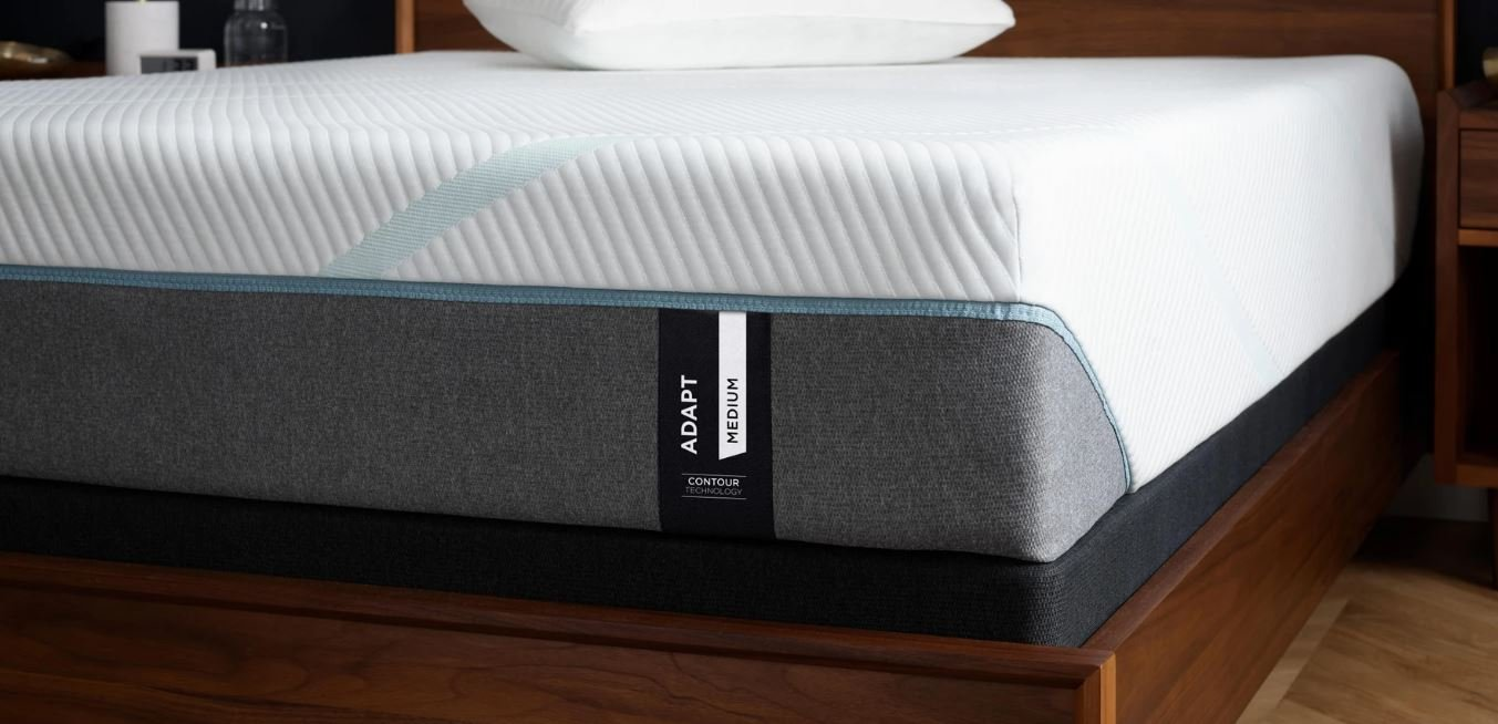View of the TEMPUR-Adapt mattress from up close