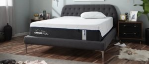 front view of the Tempur-Pedic LuxeAdapt mattress