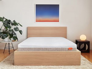 the new tomorrow sleep mattress in a nice room