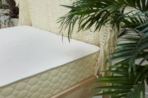 View of the Winkbeds EcoCloud Mattress up close