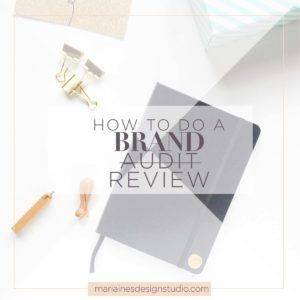 Conducting a brand audit can feel overwhelming. This step by step guide will help you make sure you keep what's important, toss or recycle what's not.