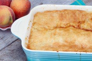 Easy Peachy Cake