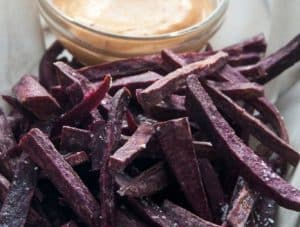 Russet & Purple French Fries With Sea Salt