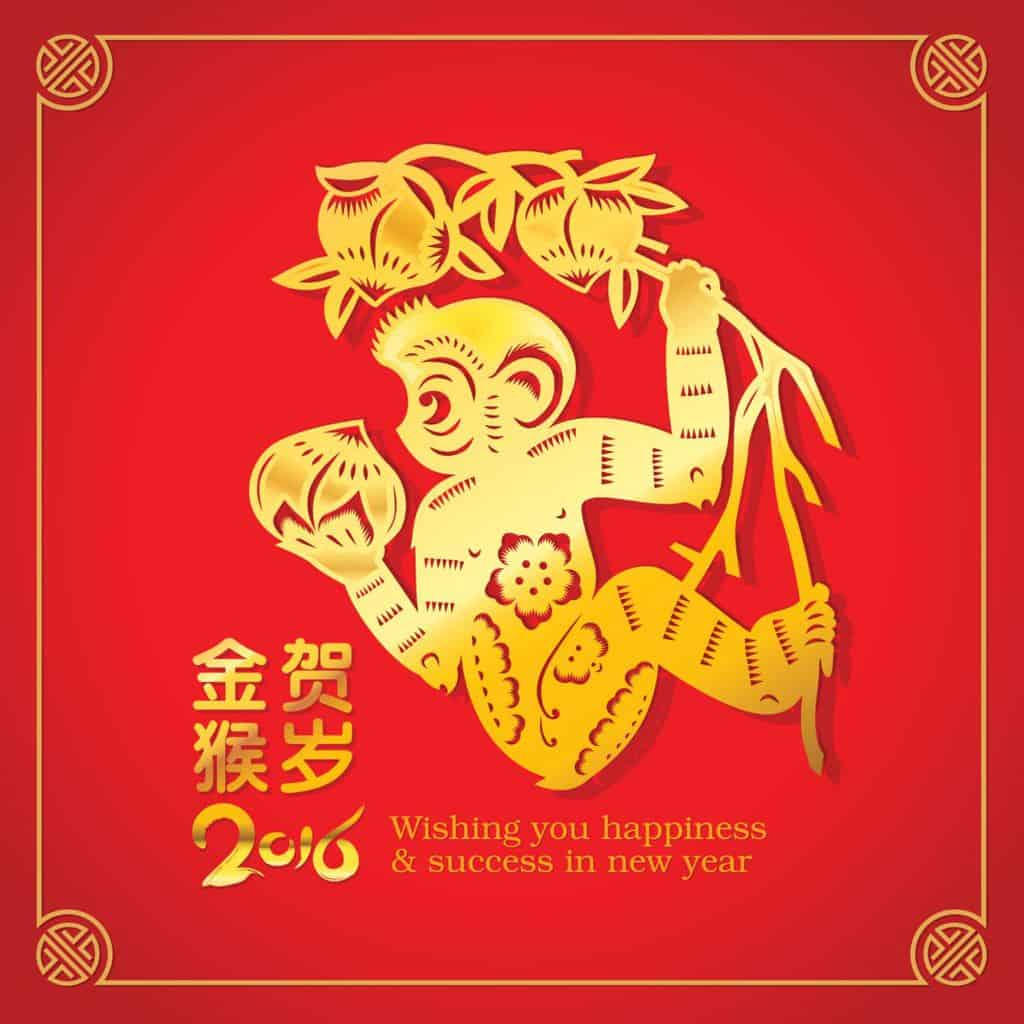 Year of the Monkey, Chinese New Year