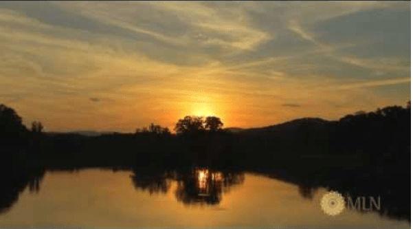 Sunset Lake Sounds at Oak Haven Farm
