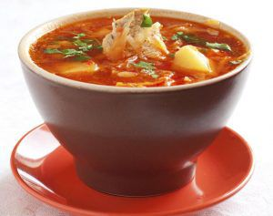 Winter Cabbage Soup