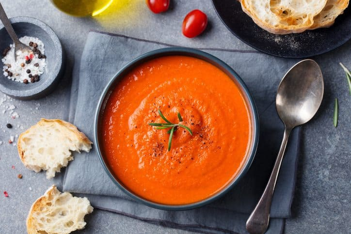 tomato soup, homemade tomato soup, tomatoes, soup, soup recipe
