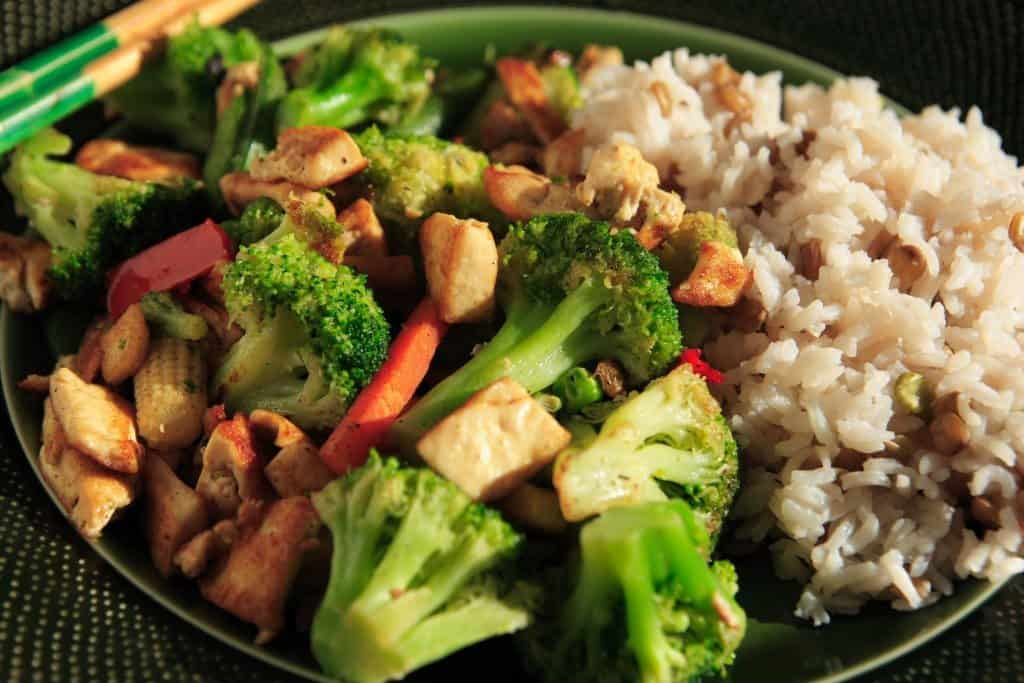 stir-fry, veggie stir-fry, tofu stir-fry, source of protein
